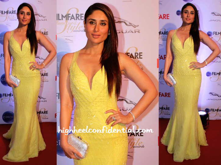 Kareena Kapoor In Cavalli At Filmfare Glamour And Style Awards 2015-1