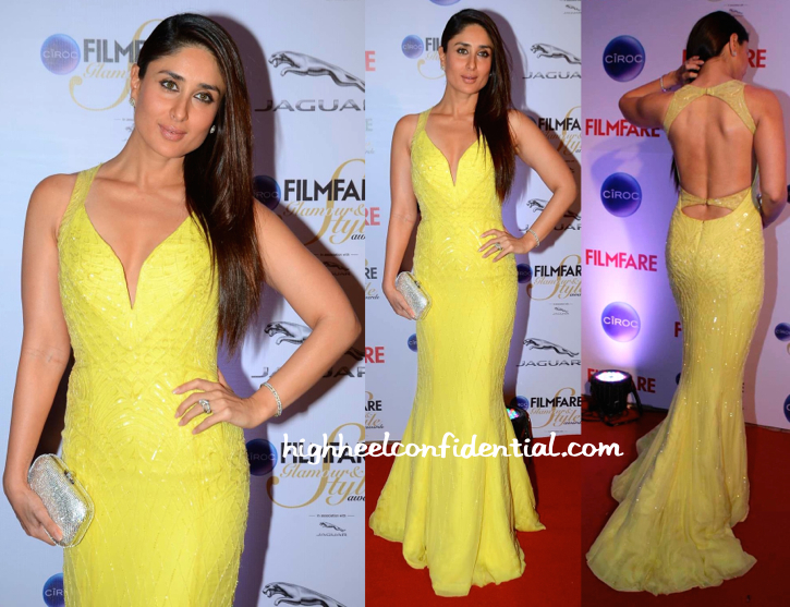 Kareena Kapoor In Cavalli At Filmfare Glamour And Style Awards 2015-2