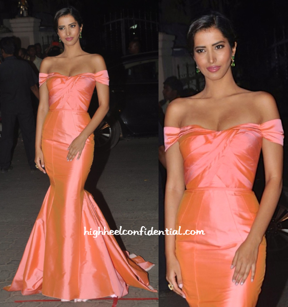 Manasvi Mamgai In Swapnil Shinde And Anmol At Filmfare Awards 2015