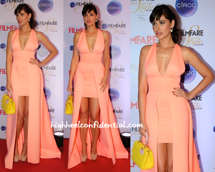 Nargis Fakhri In Gauri And Nainika At Filmfare Glamour And Style Awards 2015-1
