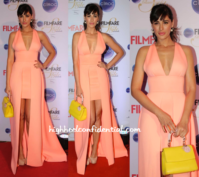 Nargis Fakhri In Gauri And Nainika At Filmfare Glamour And Style Awards 2015-2