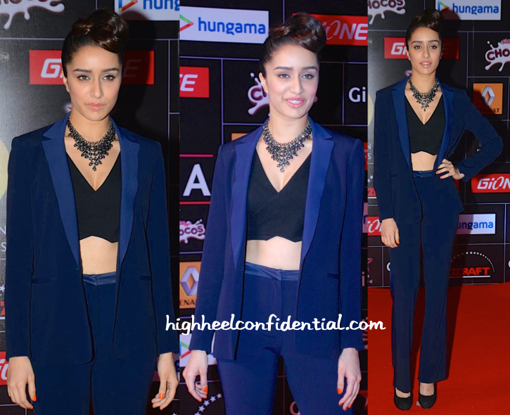 Shraddha Kapoor At Global Indian Music Awards (GIMA) 2015-2