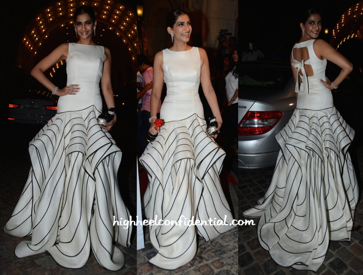 Sonam Kapoor In Isabel Sanchis At Femina Beauty Awards 2015-1