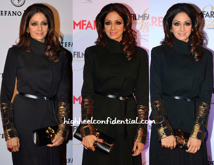 Sridevi At Stefano Ricci Launch And At Filmfare Glamour And Style Awards 2015-2