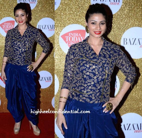 Tanisha At Harpers Bazaar Bride 1st Anniversary Party In Zulekha Sharif