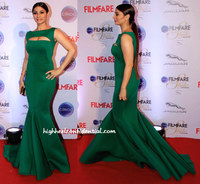 Tanisha Mukherjee In Gauri And Nainika At Filmfare Glamour And Style Awards 2015-1