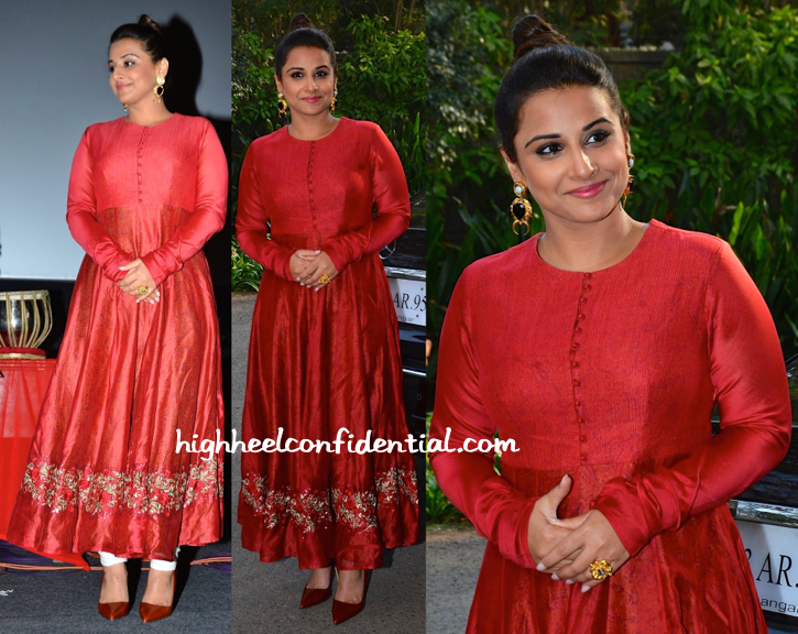 Vidya Balan In Pratima Pandey And Valliyan At Whistling Woods-1