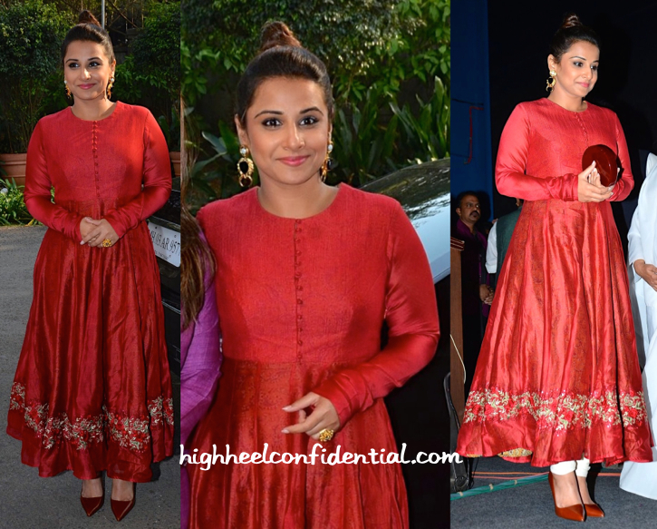 Vidya Balan In Pratima Pandey And Valliyan At Whistling Woods-2