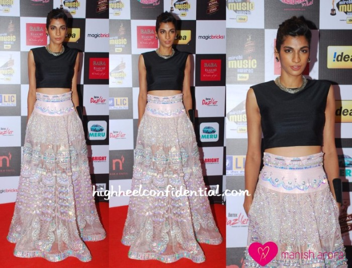 anushka-manchanda-manish-arora-mirchi-music-awards-2015
