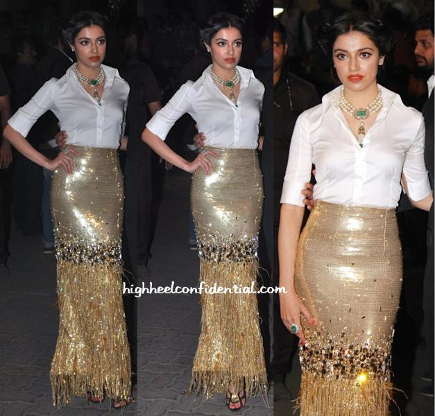 divya khosla kumar at filmfare awards 2015-1