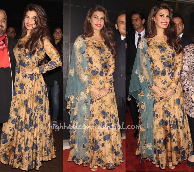 jacqueline-fernandez-bhumika-sharma-india-art-fair-2015-1