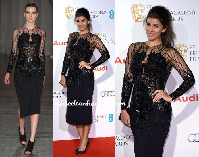 nimrat-kaur-julien-macdonald-bafta-2015-pre-party