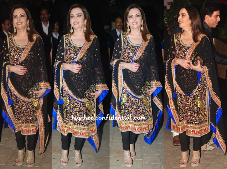 nita ambani at hinduja bash