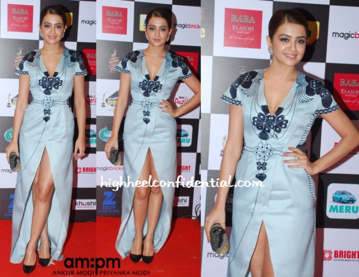 surveen-chawla-ampm-mirchi-music-awards-2015