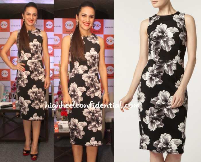 tara-sharma-dorothy-perkins-olx-survey-floral-dress