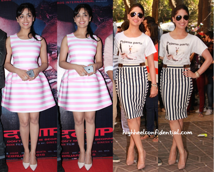 yami gautam in madison at badlapur promotions