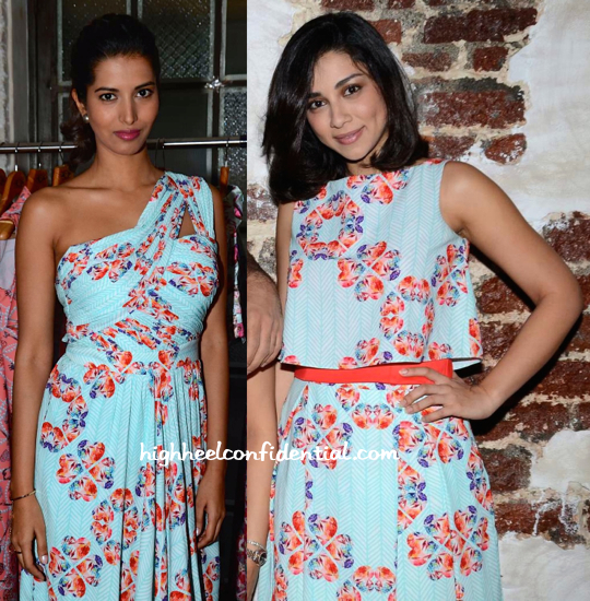 Amrita Puri And Manasvi Mamgai In Nisha Sainani At The Designer's Collection Preview-2