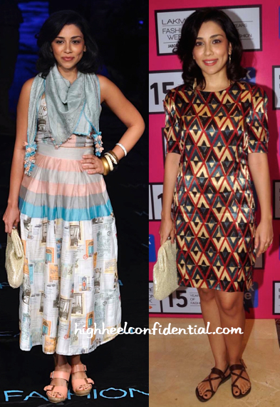Amrita Puri Wears Quirkbox And Shift To Lakme Fashion Week Day Two Shows-1
