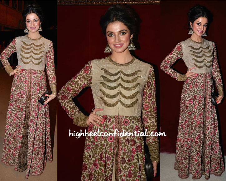 Divya Khosla Kumar In Sabyasachi At Sabyasachi Resort 2015 Presentation
