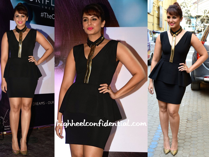 Huma Qureshi In Carousel By Simran Arya At Oriflame Event-1