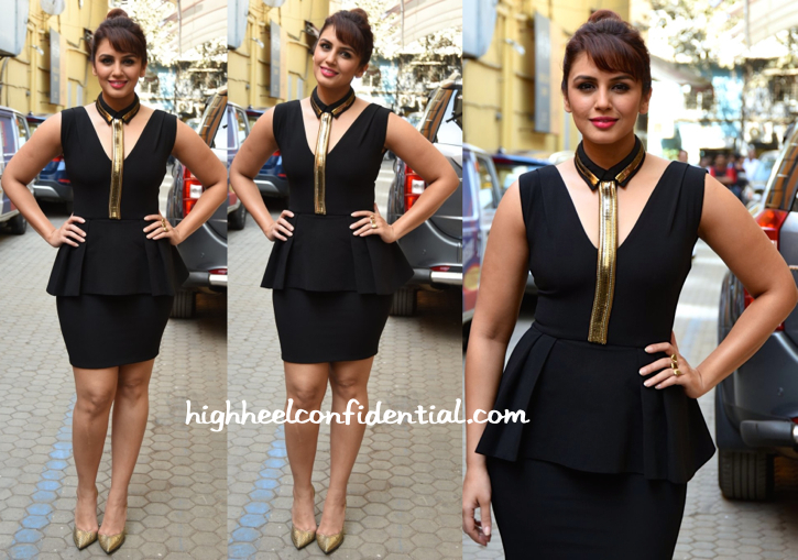 Huma Qureshi In Carousel By Simran Arya At Oriflame Event-2
