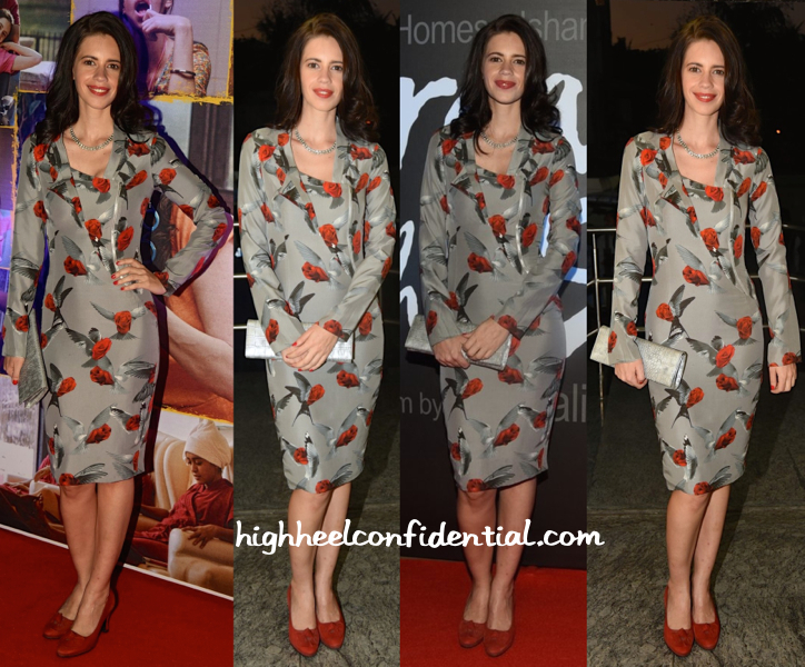 Kalki Koechlin In Gaurav Gupta At 'Margarita With A Straw' First Look Launch-1