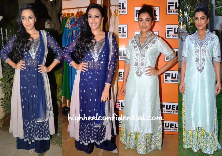 Kanika Kedia collection launch-swara bhaskar-pallavi sharda-1