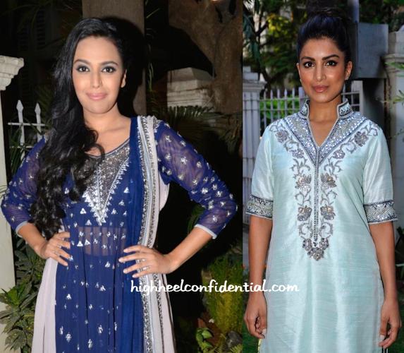 Kanika Kedia collection launch-swara bhaskar-pallavi sharda-2