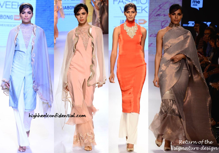 LFW Resort 2015- Kiran Uttam Ghosh-1