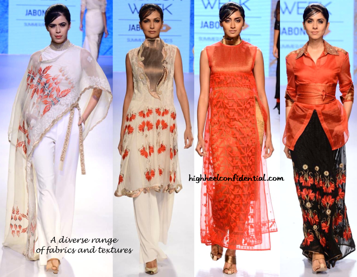 LFW Resort 2015- Kiran Uttam Ghosh-2