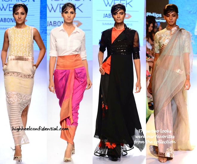 LFW Resort 2015- Kiran Uttam Ghosh-3