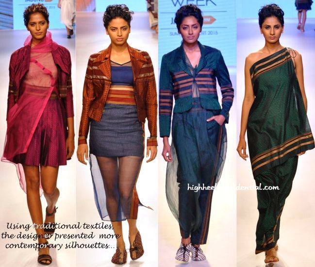 LFW Resort 2015- Vaishali S-1