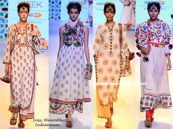 LFW Resort 2015- Vrisa By Rahul N Shikha-1