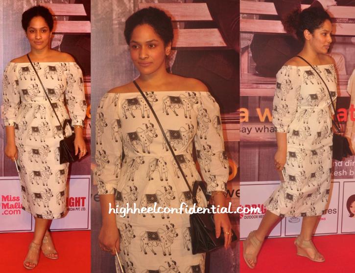 Masaba Gupta Wears Her Own To Anupam Kher And Neena Gupta's Play