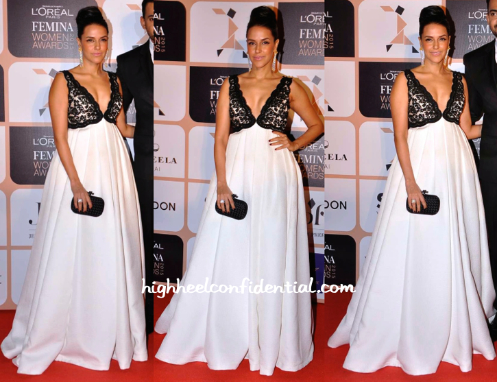 Neha Dhupia In Rocky S At L'Oréal Femina Women's Awards 2015-1