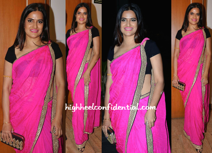 Sona Mohapatra In Sunaina Sood At Tulsi Kumar-Hitesh Ralhan Wedding Reception