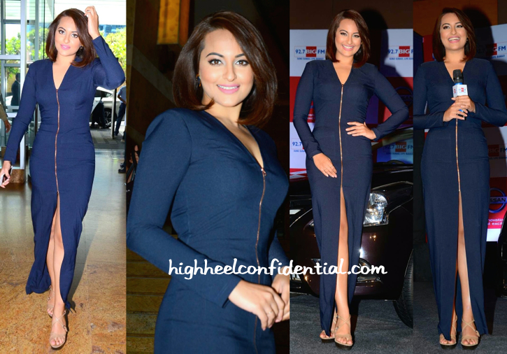Sonakshi Sinha In Nikhil Thampi At An Event For Nissan-1