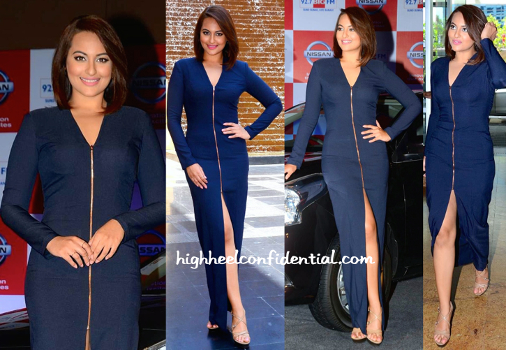 Sonakshi Sinha In Nikhil Thampi At An Event For Nissan-2
