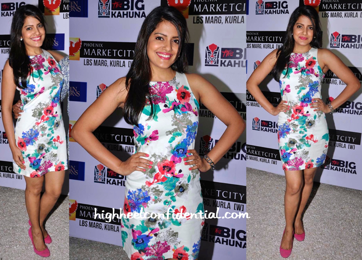 Vishakha Singh At Ken Ferns Collection Preview