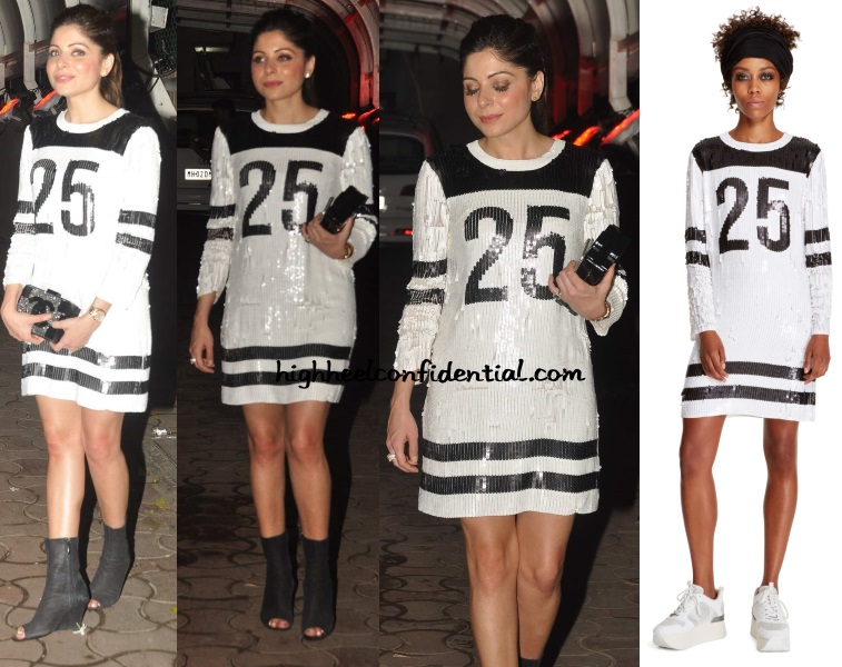 kanika-kapoor-dkny-25-karim-morani-birthday-dress