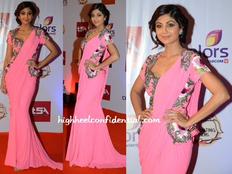 shilpa-shetty-monisha-jaising-television-style-awards-2015