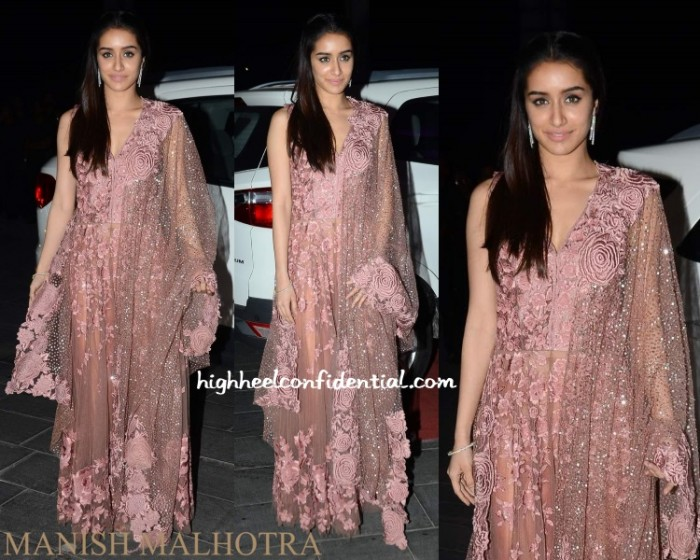 shraddha-kapoor-manish-malhotra-tulsi-kumar-wedding-reception