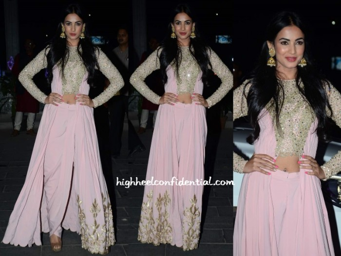 sonal-chauhan-neeta-lulla-tulsi-kumar-wedding-reception