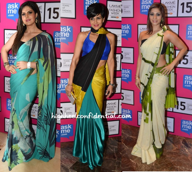zareen-mandira-tanisha-satya-paul-lakme-fashion-week-2015