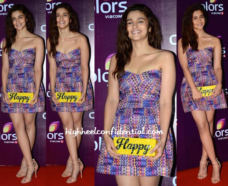 Alia Bhatt At Colors TV Annual Party-2