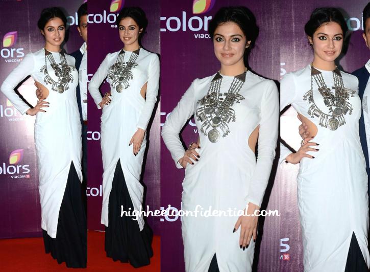 Divya Khosla Kumar At Colors TV Annual Party