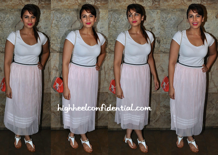 Huma Qureshi Totes Furla To 'O Kadhal Kanmani' Screening-1