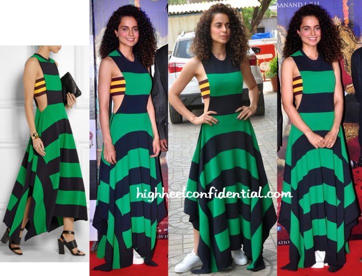 Kangana Ranaut In Stella McCartney At 'Tanu Weds Manu Returns' Promotions-1