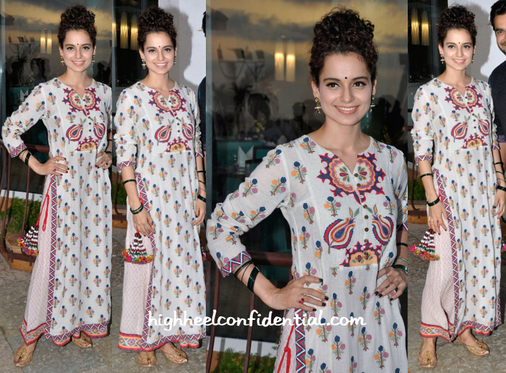Kangana Ranaut Wears Vrisa To 'Tanu Weds Manu Returns' Promotions-1