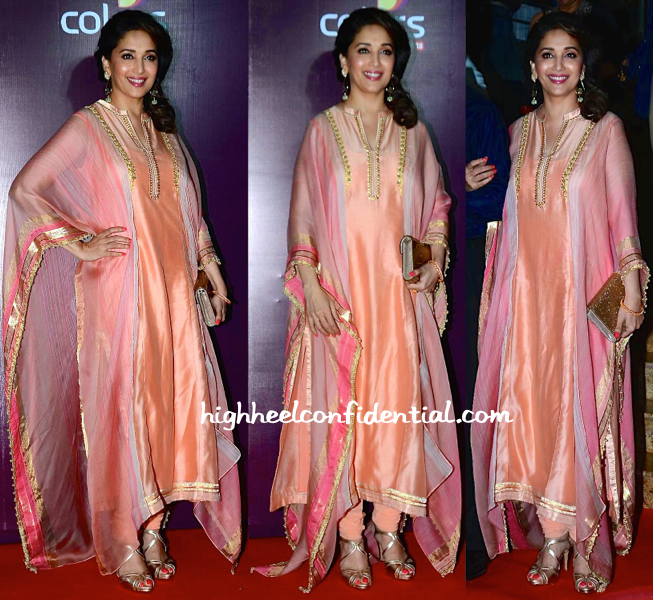 Madhuri Dixit At Colors TV Annual Party 2015-1
